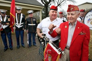 Applingwood Hospice Health Care - Flag folding and Taps Ceremony @ Applingwood Hospice Health Care