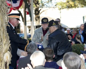 Forever Young Senior Veterans - Veterans Day Event in Collierville Town Square @ Collierville Town Square